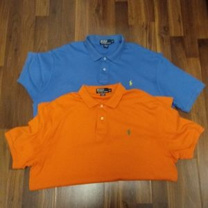 """2"" RALPH LAUREN POLO SHIRTS"